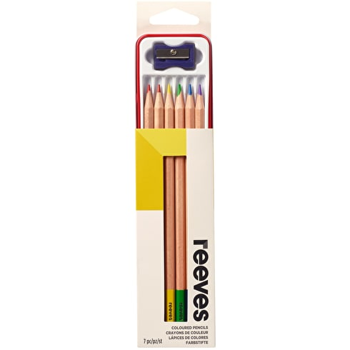 Reeves Colour Pencils Tin Set of 6